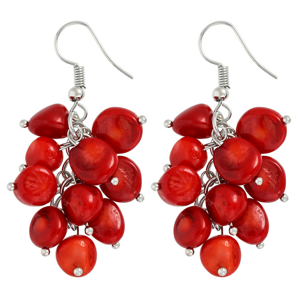 Ohrhänger - Red Coral
