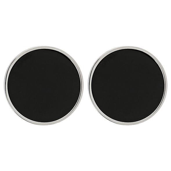 Ohrstecker - Black Steel