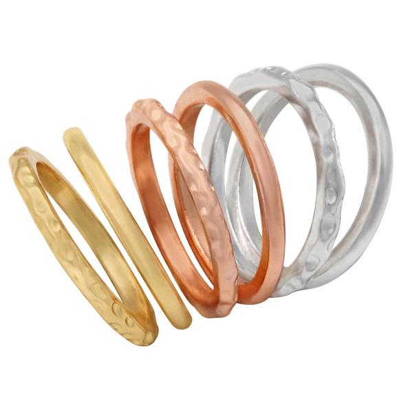 Ring - 6er-Set Shine