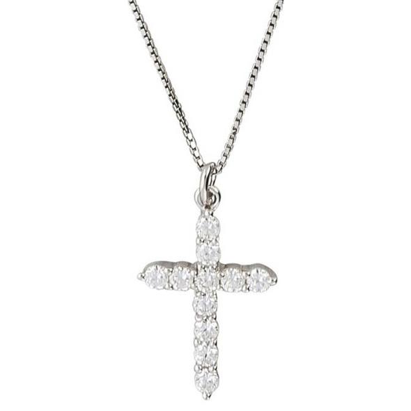 Kette - Glitter Cross
