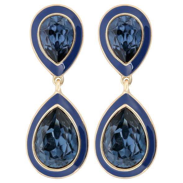 Ohrstecker - Glamorous Blue