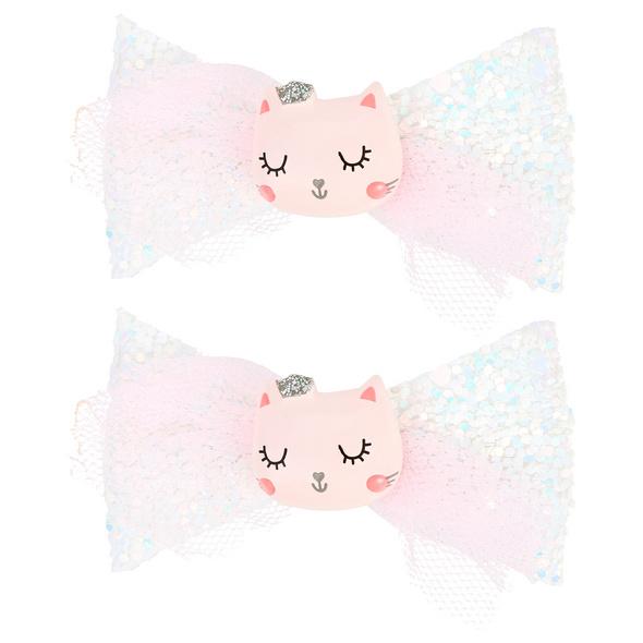 Kinder Haarklammer-Set - Little Cat