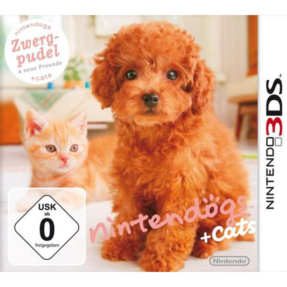 Nintendogs & Cats Toy Poodle