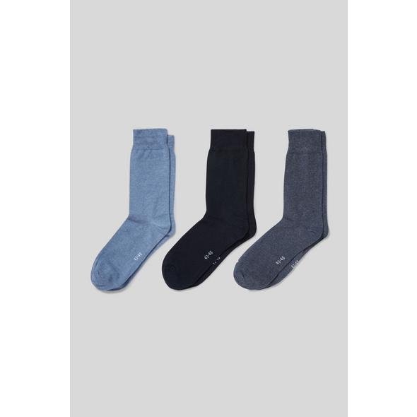 Multipack 3er - Socken - Bio-Baumwolle
