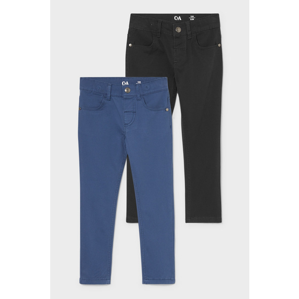 Multipack 2er - Hose - Slim Fit