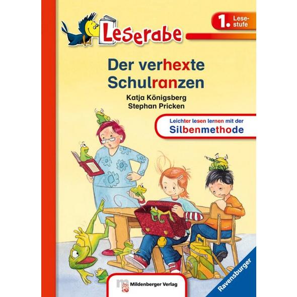 Der verhexte Schulranzen - Leserabe 1. Klasse - Erstlesebuch für Kinder ab 6 Jahren